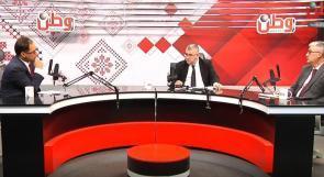 القاضي محمد غانم والمحامي رائد عبد الحميد لوطن: هيئة تسوية الأراضي تعاني من نقص القضاة، وهناك 15 الف اعتراض أمام محاكم التسوية