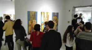 """من غزة إلى بيت لحم معرض بعنوان """"لم تَزُل"""" للفنان محمد الحاج يحاكي التراث المعماري في مدينة غزة"""