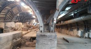 صور ... الكشف عن أنفاق اسفل بيوت المقدسيين في وادي حلوة