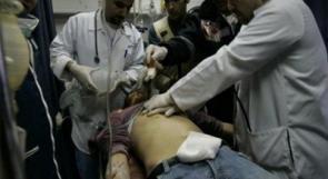 اصابة شاب بجروح بالغة الخطورة بالرأس في النبي صالح