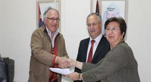 توقيع إتفاق لبدء المرحلة الثالثة من مشروع الصرف الصحي في رام الله