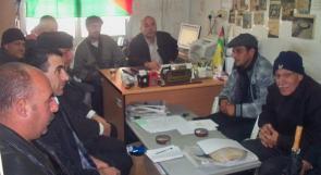 لقاء تشاوري في جنين لإقرار برنامج  يوم  الأسير الفلسطيني