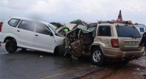 مصرع سيدة و إصابة 12 آخرين بحادث سير قرب قلقيلية