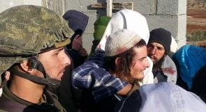 بالصور...ضرب واحتجاز 15 مستوطنا في قريوت جنوب نابلس