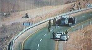 مصادر اسرائيلية : إطلاق نار على حافلة تقل جنودا على الحدود مع مصر
