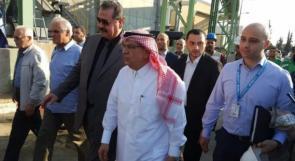 خط مياه جديد لغزة والمنحة المالية القطرية تدخل القطاع