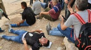 مصطفى البرغوثي لـوطن: الاحتلال اعتدى علينا بطريقة وحشية في الخان الأحمر