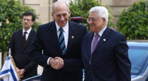 أولمرت: عباس الوحيد القادر على تحقيق السلام مع إسرائيل