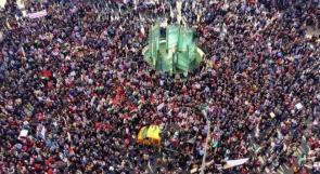 متظاهرون ضد الضمان: أين نضع أموالنا والفساد سيد الموقف منذ 25 عاماً !؟
