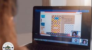 """الاتحاد الفلسطيني للشطرنج يطلق مبادرة لتعليم الشطرنج لطلبة المدارس """"أون لاين"""""""