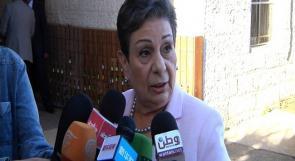 عشراوي لوطن: عدم مشاركة الفصائل في اجتماع المركزي يضعف النظام السياسي