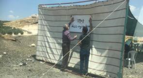 شرطة الاحتلال تمنع نصب خيمة احتجاجية ضد هدم 16 بناية بالقدس