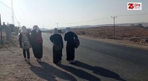 طلاب قرية الديرات يناشدون عبر وطن بضرورة توفير مدرسة ثانوية لهم