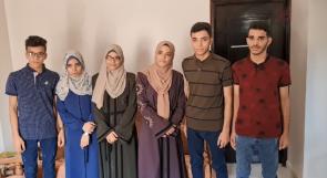 التوائم الستة المتفوقون في الثانوية العامة في غزة.. فرحة عارمة ومستقبل مجهول