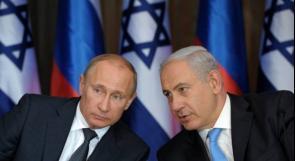 بوتين لنتنياهو: جيشك المتسبب بكارثة طائرتنا