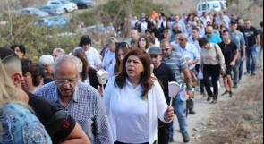 مسيرة وصلاة من أجل إعادة بناء إقرث وكفر برعم المهجرتين