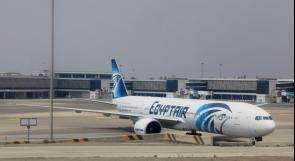"""وصول أول طائرة تابعة لشركة """"مصر للطيران"""" إلى دولة الاحتلال"""