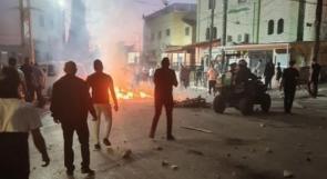 20 إصابة بينها 4 خطيرة في مواجهات مع الاحتلال في كفر كنا