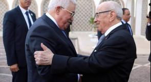 الرئيس عباس في زيارة رسمية لتونس خلال أيام