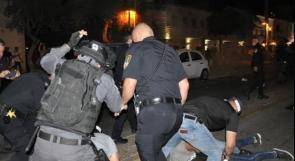 شرطة الاحتلال تعتقل 11 شابا من كفر كنا في الداخل المحتل