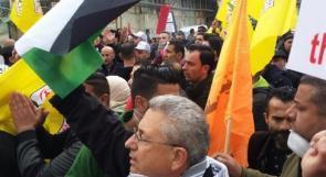 البرغوثي من شارع الشهداء  في الخليل: مقاومة شعبنا ستستمر حتى اسقاط نظام الابارتهايد وكنس الاستيطان
