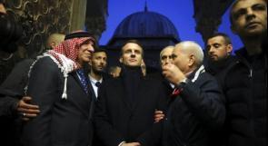 فرنسا تنفي ان يكون الرئيس ماكرون اعتذر للشاباك