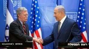 نتنياهو وبولتون يطالبان أوروبا بتكثيف الضغوط على إيران