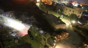 """إصابات خلال اقتحام الاحتلال لبلدة """"بيت كاحل"""""""