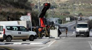جيش الاحتلال ينشر 120 وسيلة تحصين للمستوطنين في شوارع الضفة