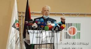 حنا ناصر يعلن الجدول الزمني للانتخابات العامة 2021