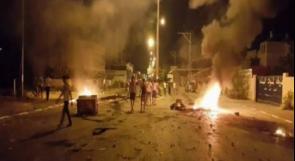 إصابات في مواجهات مع الاحتلال شرق قلقيلية