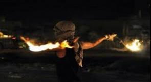 استهداف مستوطنة قرب رام الله بزجاجات حارقة