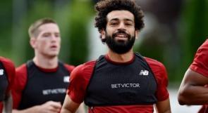 صلاح يعود لتدريبات ليفربول بعد إصابته رفقة الفراعنة