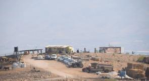 مستوطنون ينصبون بيوتا متنقلة جديدة في الأغوار