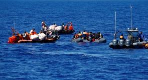 إنقاذ 61 مهاجراً قبالة السواحل الليبية