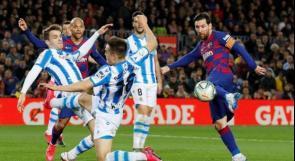 برشلونة يستأنف حملة الدفاع عن لقب الدوري الإسباني في 13 يونيو