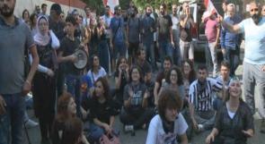 لبنان:  الاحتجاجات تتواصل لليوم السادس وتصل إلى المطالبة باسقاط حكم المصرف