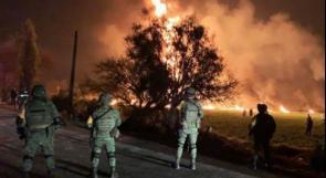 ارتفاع حصيلة انفجار أنبوب النفط في المكسيك إلى 125 قتيلا