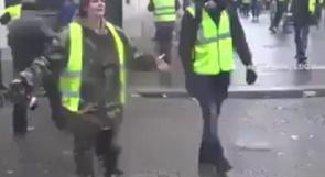 فيديو| شرطية فرنسية تبكي بحرقة: اقتلوني لكن لا تخربوا باريس