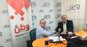 وطن ومسارات يوقعان اتفاقية تعاون اعلامية