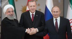 قمة روسية تركية إيرانية منتصف شباط الجاري