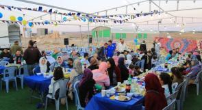 """أهالي """"غوين"""" يلتقون على إفطار رمضاني نظمه الأوروبيون"""