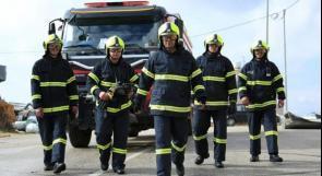 الدفاع المدني يتعامل مع 33 حادث حريق وإنقاذ