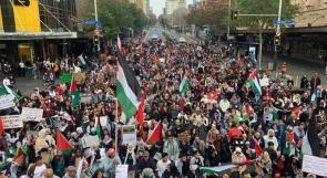 صور | نيوزيلندا: فعاليات تضامنية واسعة ومتواصلة مع فلسطين وحقوق شعبها