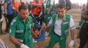 غزة: الخدمات الطبية تتعامل مع 60 إصابة خلال مواجهات أمس