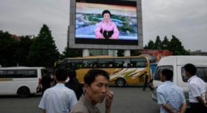 """التلفزيون الكوري الشمالي يحتفي بكيم """"القائد العالمي"""""""