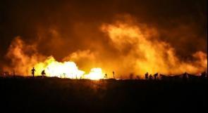 جيش الاحتلال يتخوف من التظاهرات الليلة على حدود غزة