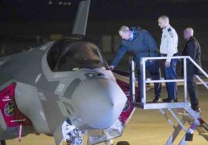 إسرائيل ستستلم ثلاث مقاتلات الشبح اف-35 من الولايات المتحدة الأحد