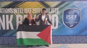 """الفريق الطلابي الفلسطيني يحصل على جائزتين في معرض """"إنتل"""""""