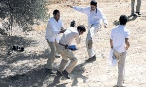 إصابة شاب من جنين بعد مهاجمته من المستوطنين قرب رام الله